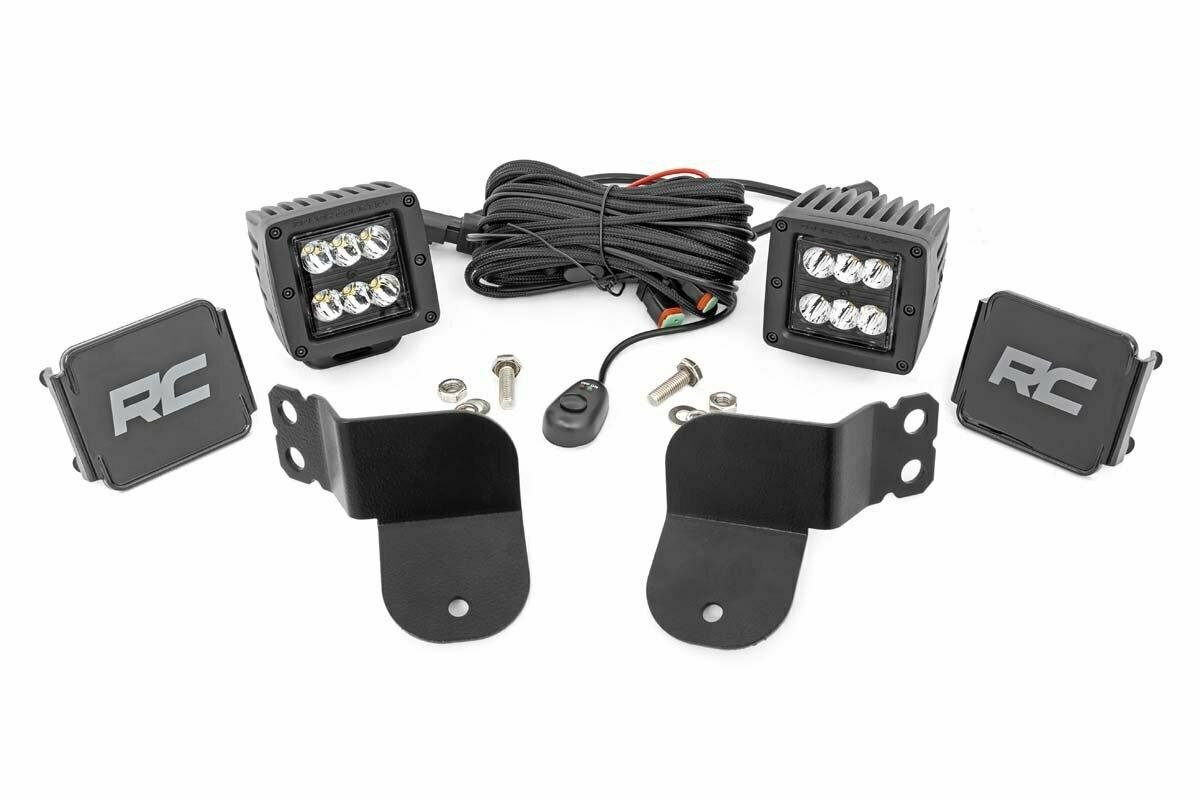 Polaris Dual LED Cube Kit - Black Series (16-20 General)