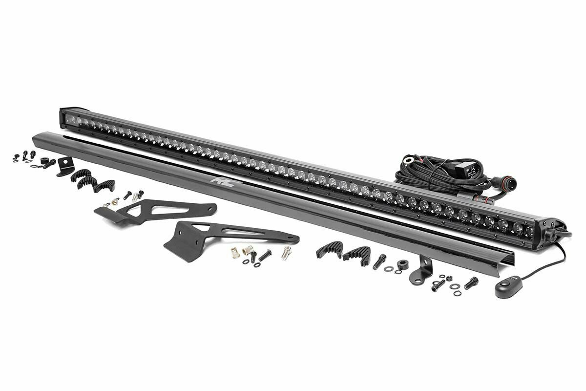 Can-Am Defender Front Facing 50-Inch Single Row LED Kit (16-20 Defender)