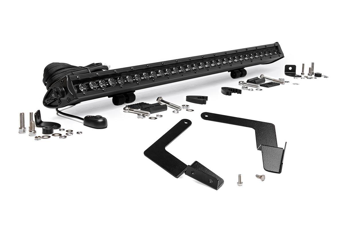 Toyota 30-inch Cree LED Bumper Kit | Black Series (16-19 Tacoma)