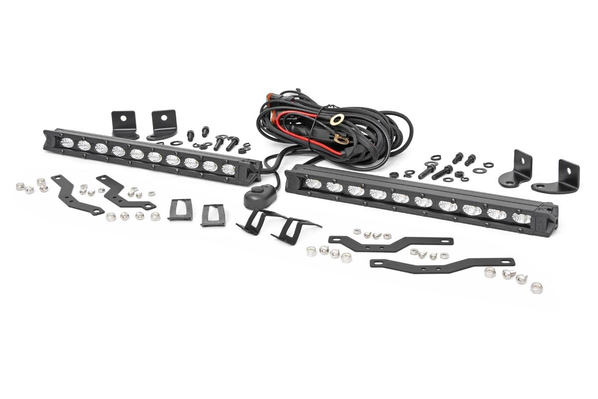 Ford Dual 10in LED Black Series Grille Kit (18-20 F-150 | XLT)