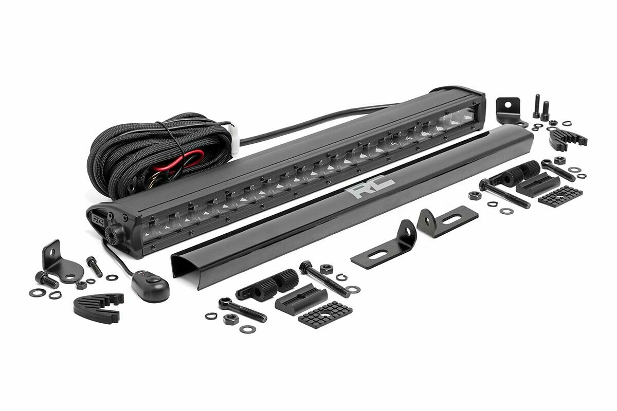 Ford 20in LED Bumper Kit | Black-Series (19-20 Ranger)