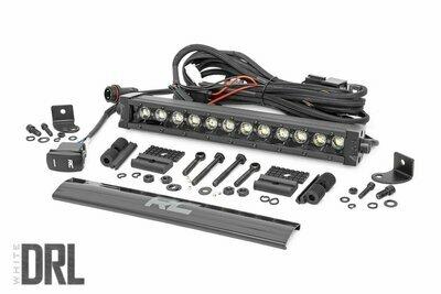 12-inch Cree LED Light Bar - (Single Row | Black Series w/ Cool White DRL)