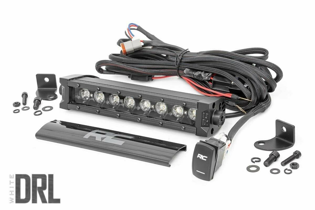 8-inch Cree LED Light Bar (Black Series w/ Cool White DRL)