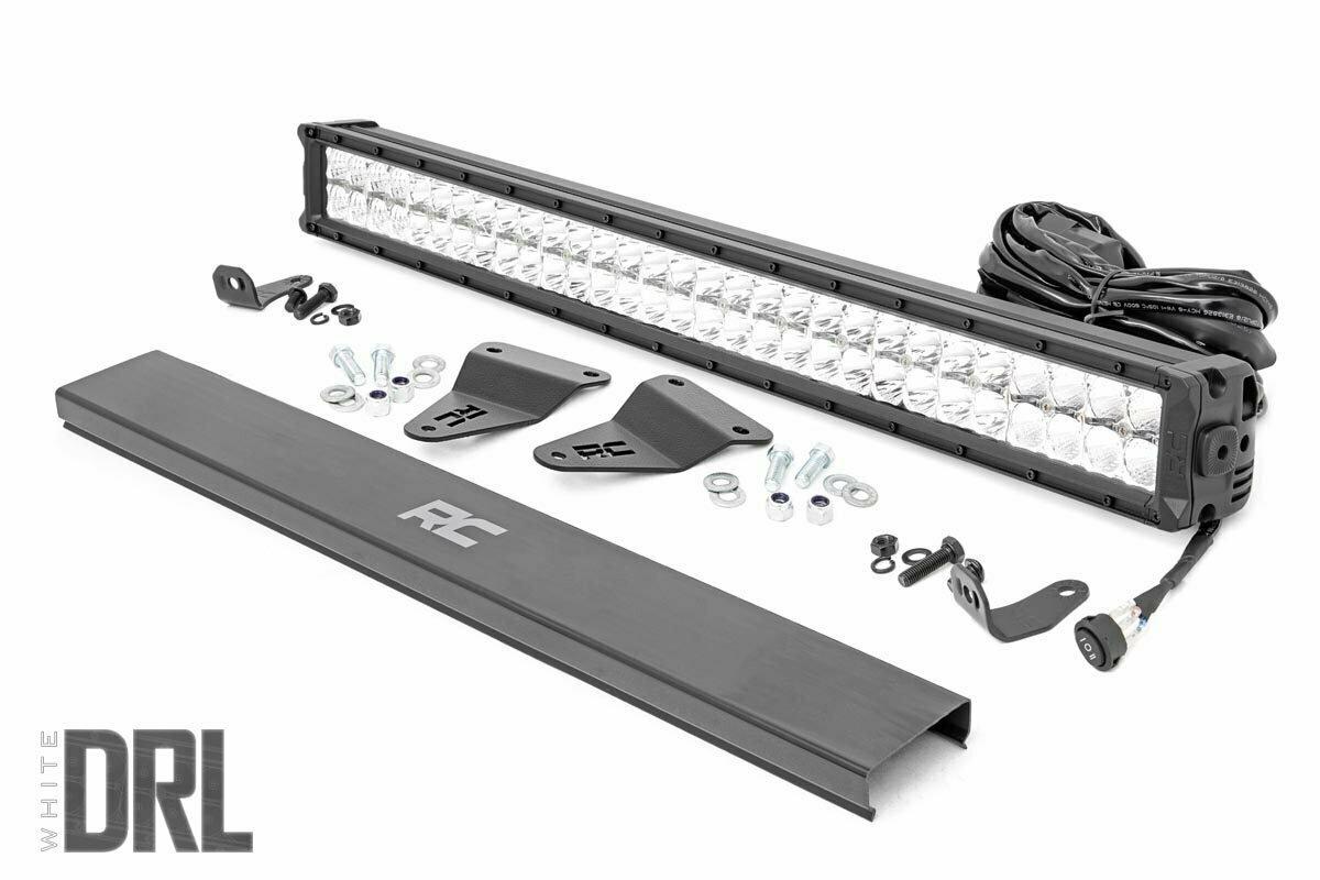 Toyota 30in LED Grille Kit   Chrome Series w/ Cool White DRL (14-20 4-Runner)