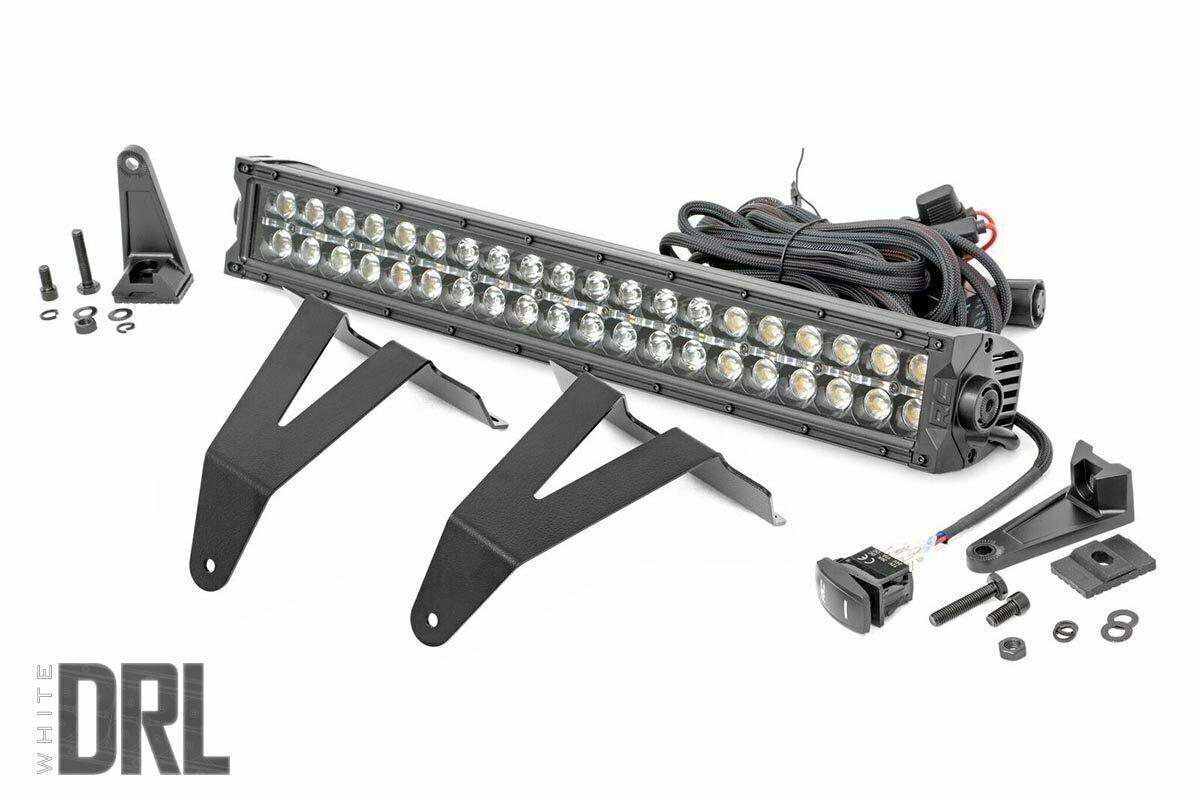 Dodge 20in LED Bumper Kit | Black Series w/ Cool White DRL (19-20 RAM 1500)