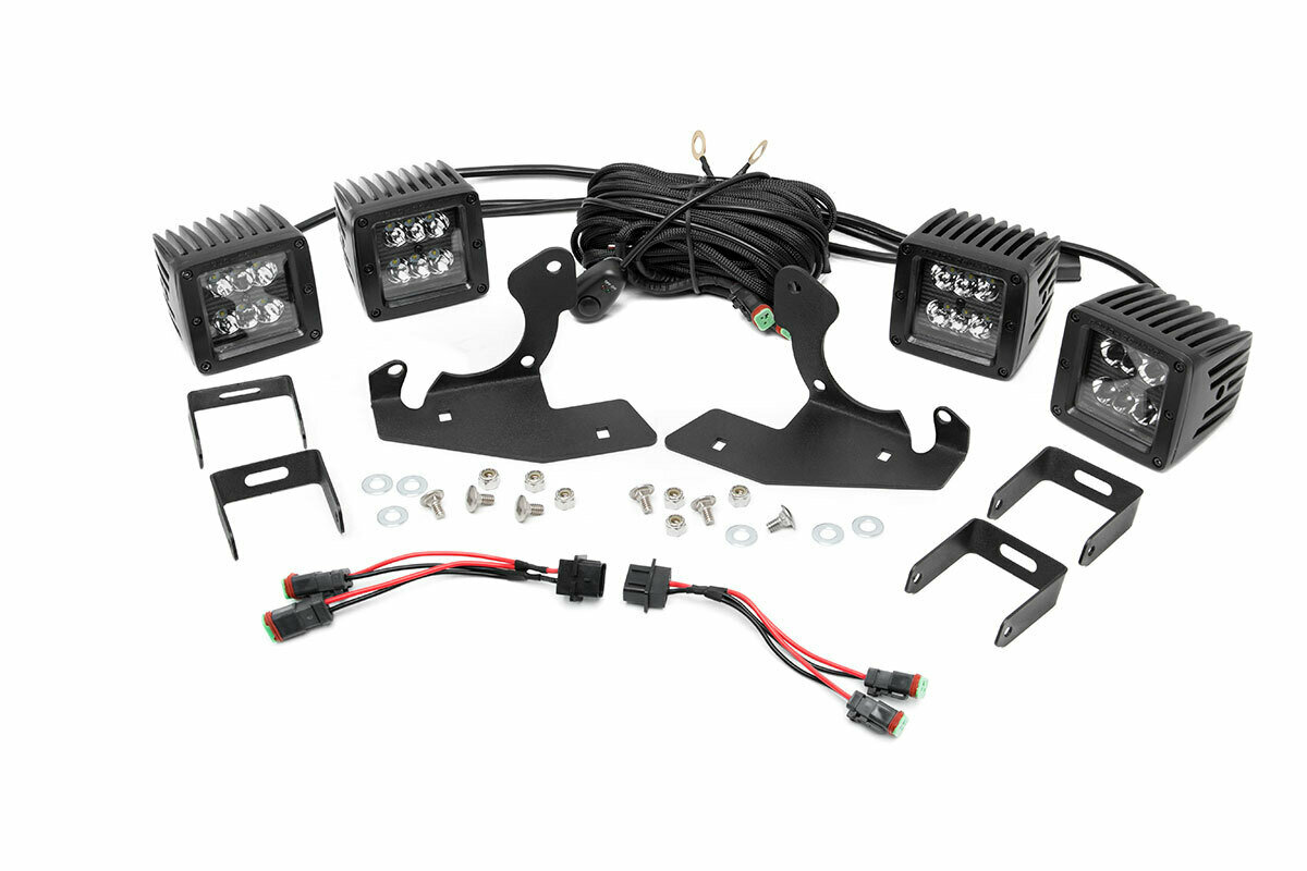 Chevrolet LED Fog Light Kit | Black Series (07-13 Silverado 1500)