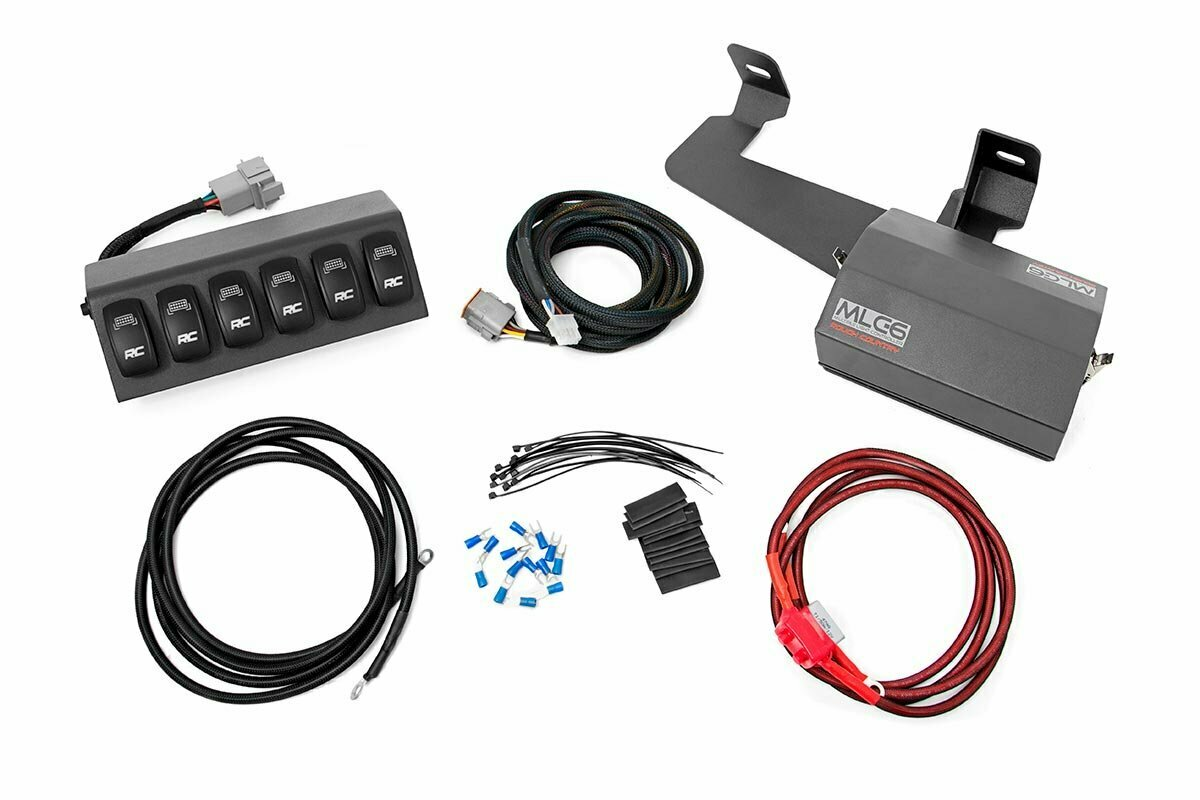 MLC-6 Multiple Light Controller (97-06 Wrangler TJ)