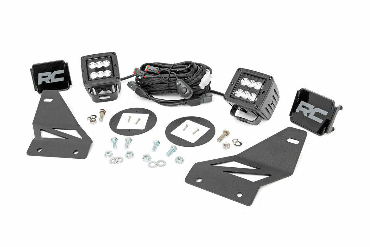 Nissan LED Fog Light Kit | Black Series (05-19 Frontier)