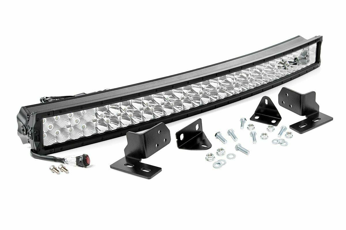 Ford 40-inch Curved LED Light Bar Bumper Kit | X5 Series (11-16 F-250 Super Duty)