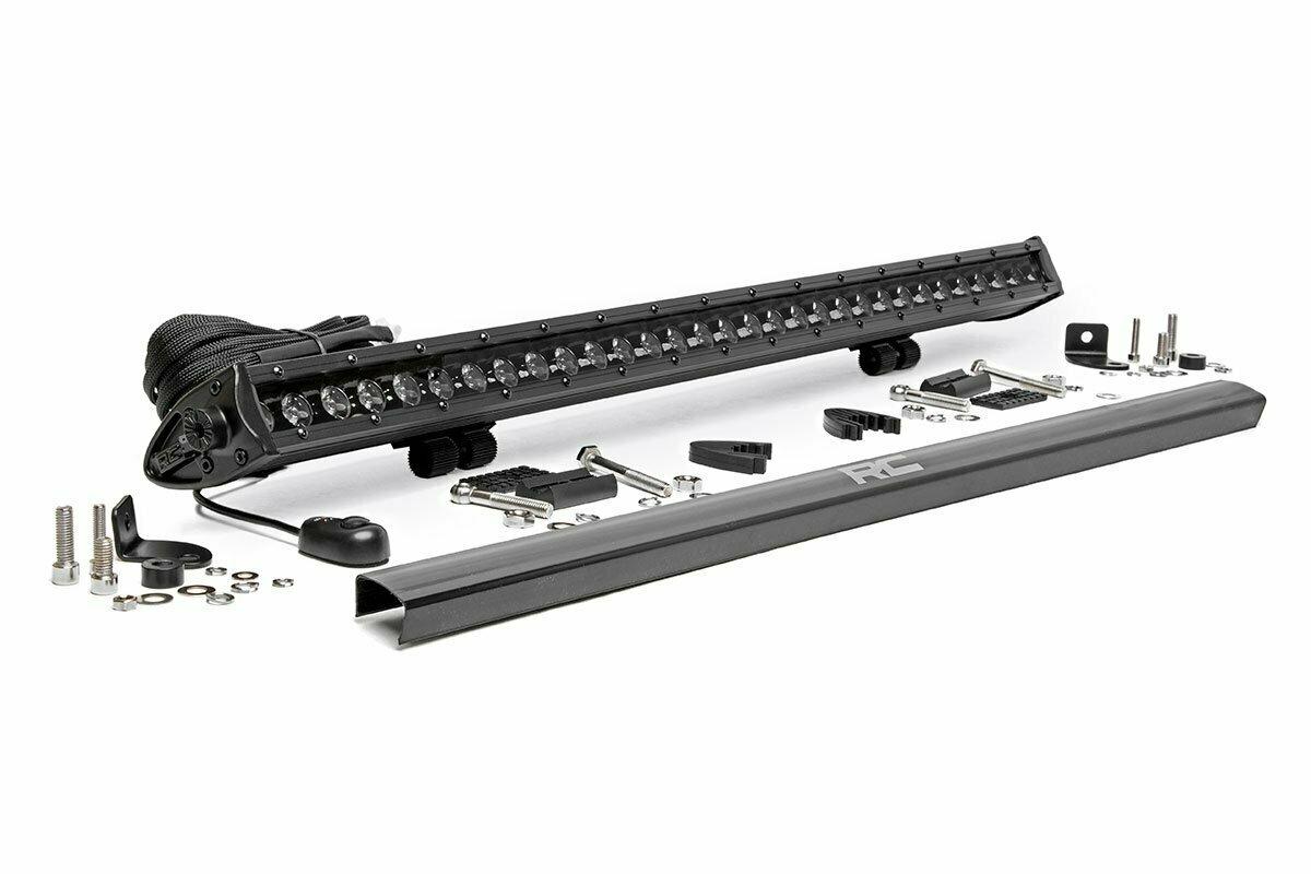 30-inch Cree LED Light Bar - (Single Row | Black Series)