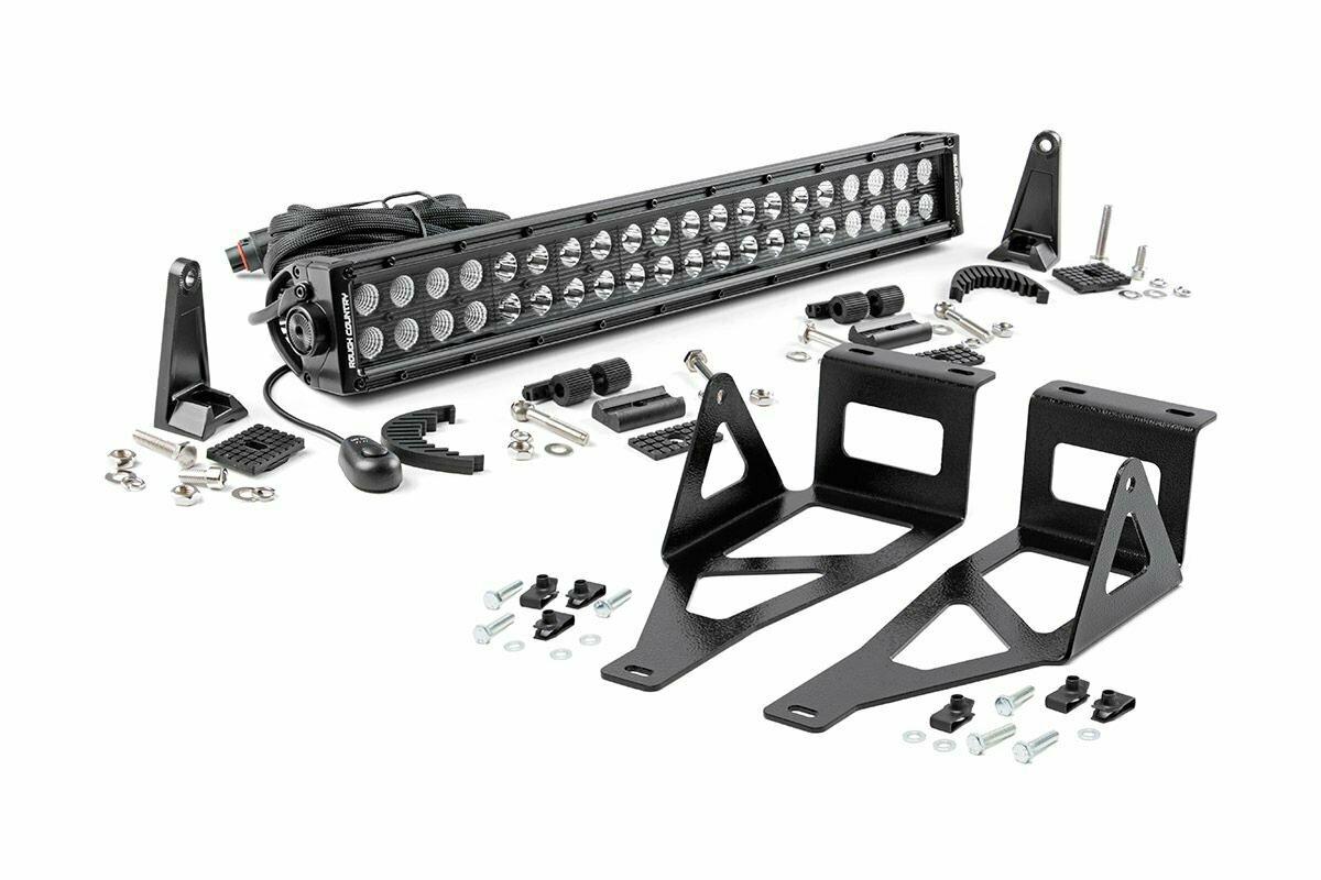 Ford 20in LED Bumper Kit | Black Series (05-07 F-250/350)