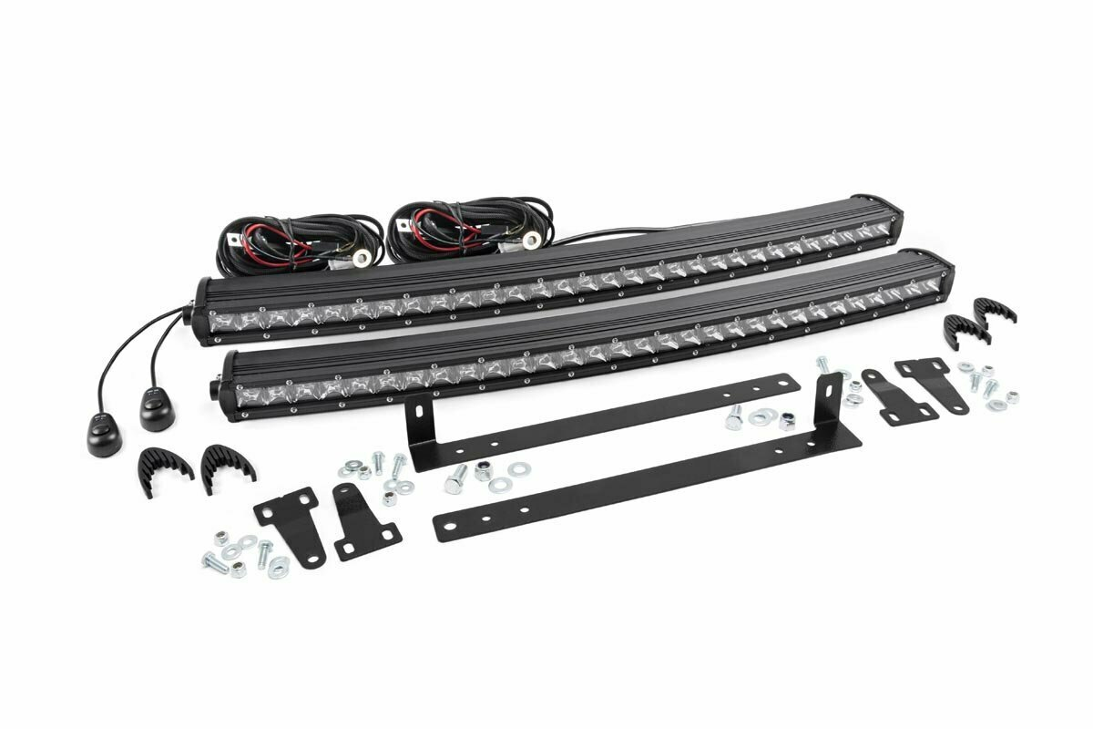 Ford 30in Dual LED Grille Kit | Chrome Series (09-14 F-150)