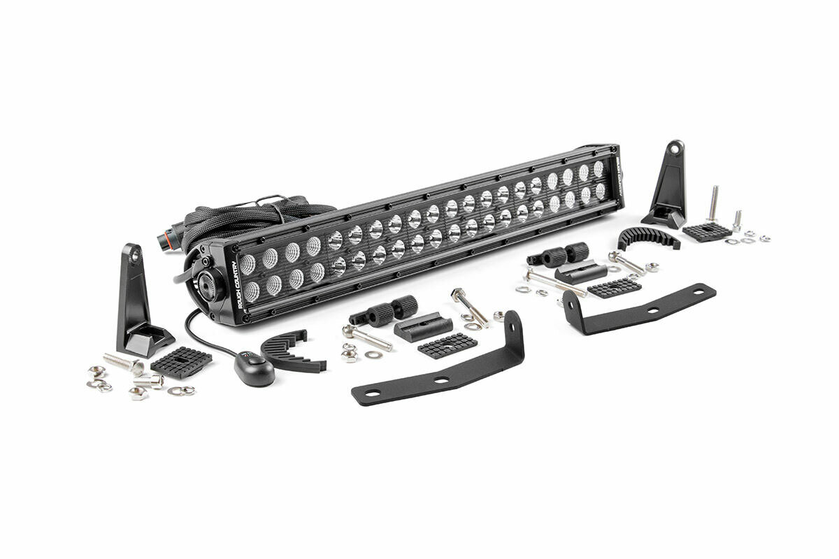 Nissan 20in LED Bumper Kit | Black Series (16-20 Titan XD)