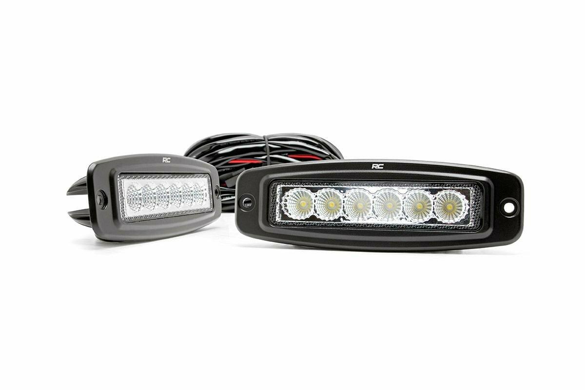 6-inch Flush Mount LED Light Bars (Pair)