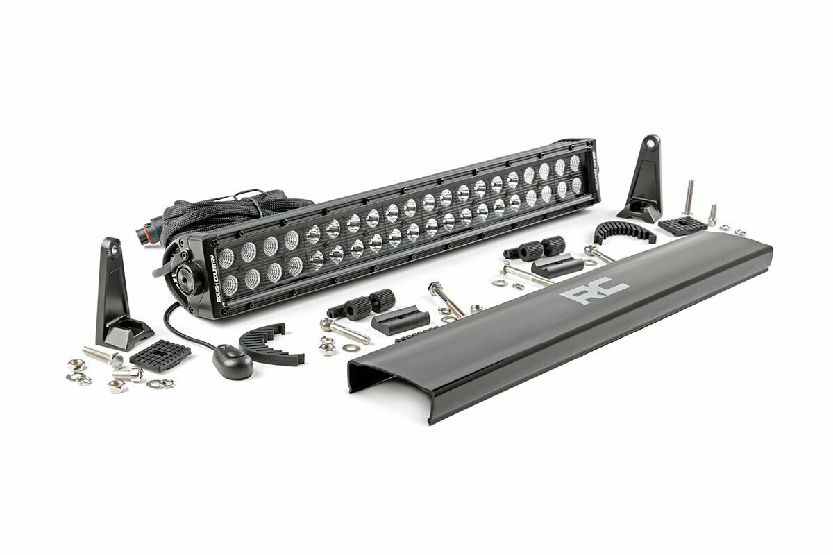 20-inch Cree LED Light Bar - (Dual Row | Black Series)