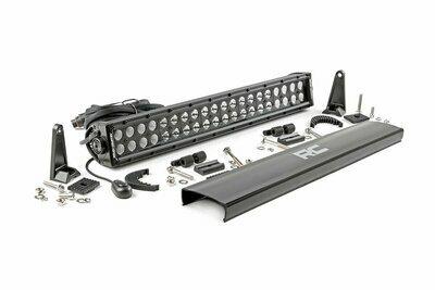 20-inch Cree LED Light Bar - (Dual Row | Black Series)