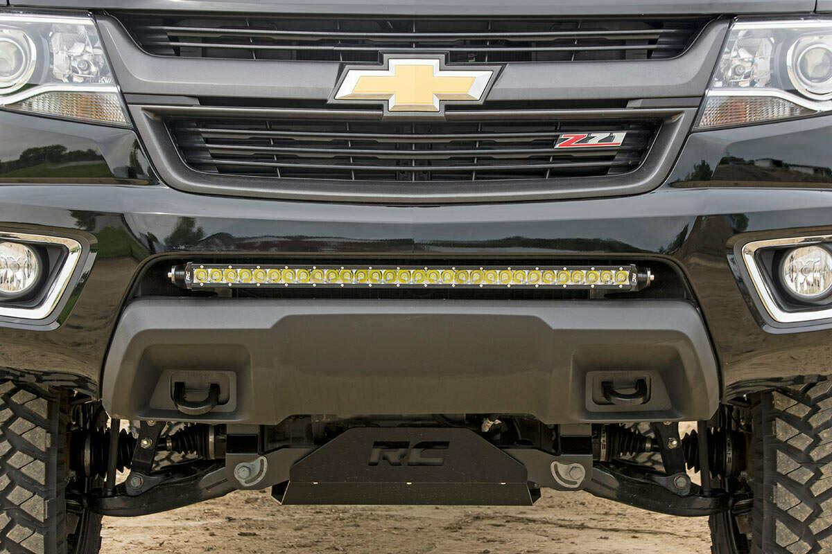 GM 30-inch Single Row LED Hidden Bumper Mounts (15-20 Colorado/Canyon)