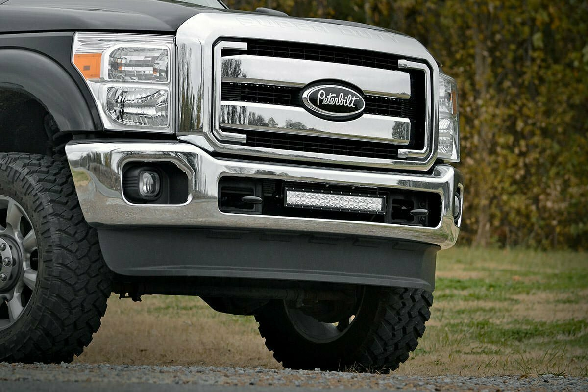 Ford 20-inch LED Light Bar Hidden Bumper Mount (11-16 Super Duty)