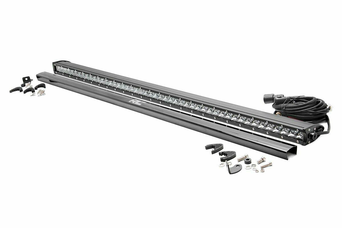 50-inch Straight Cree LED Light Bar - (Single Row | Chrome Series)