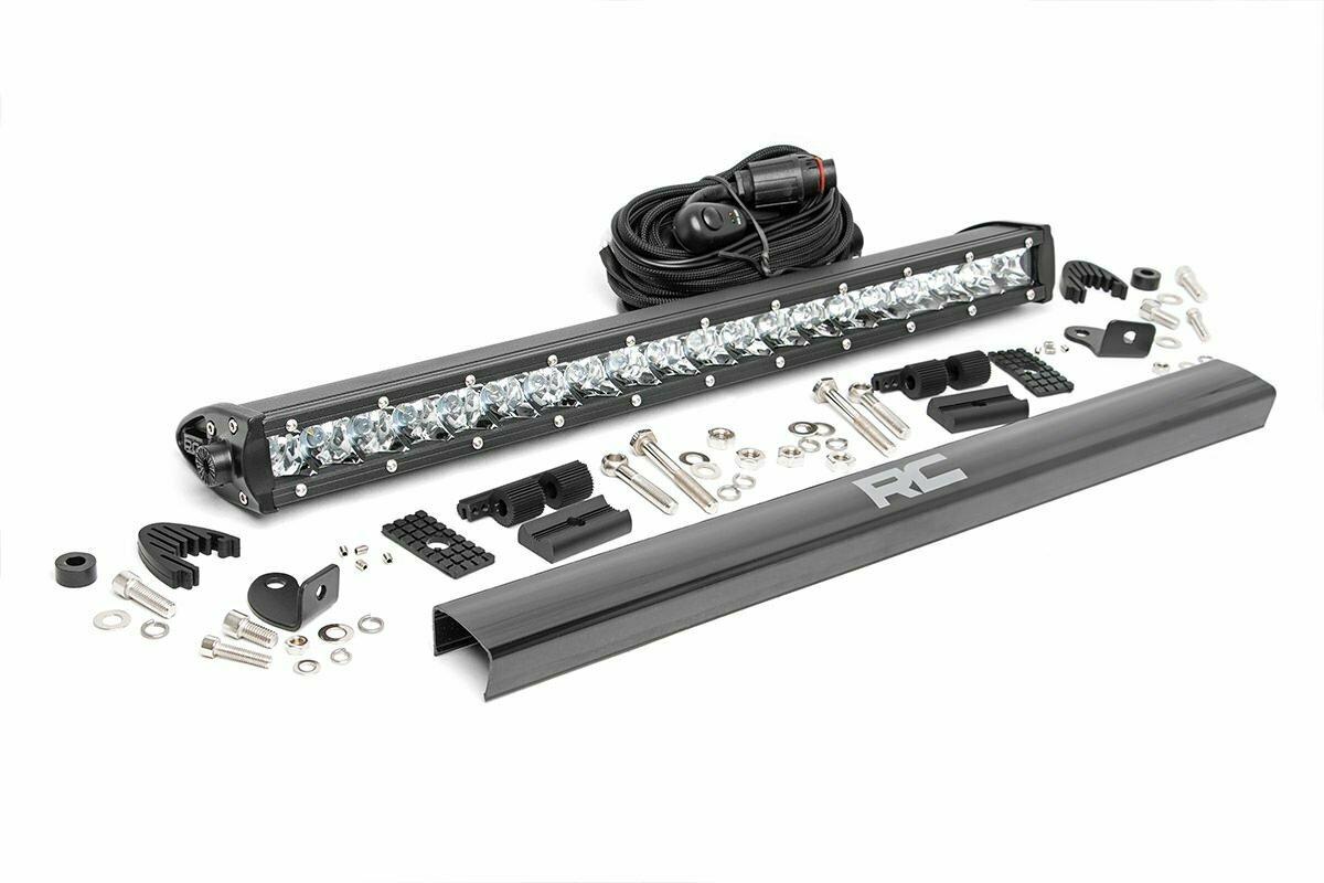 20-inch Cree LED Light Bar - (Single Row | Chrome Series)