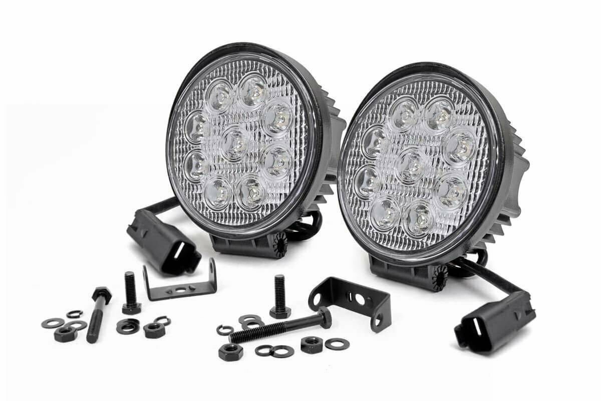 4-inch LED Round Lights