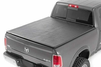 Dodge Soft Tri-Fold Bed Cover (09-18 Ram 1500 / 09-20 Ram 2500/3500 - 6' 4