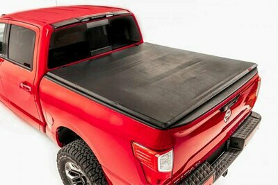 Nissan Soft Tri-Fold Bed Cover (04-15 Titan - 5' 5
