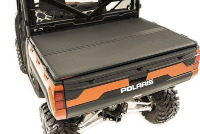 Polaris Hard Folding Bed Cover w/ Tailgate Lock (13-20 Ranger 570XP/900XP)