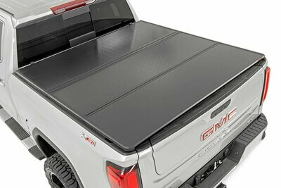 GM Hard Tri-Fold Bed Cover (14-18 1500 PU - 8' Bed w/o Cargo Mgmt)