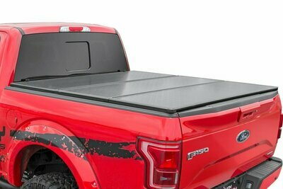 Toyota Hard Tri-Fold Bed Cover (16-20 Tacoma - 5' Bed w/Cargo Mgmt)