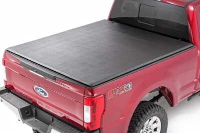 Ford Soft Tri-Fold Bed Cover (17-20 Super Duty - 8' Bed)