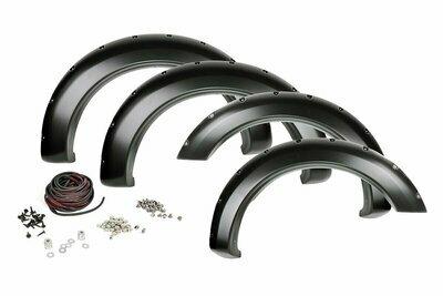 Nissan Pocket Fender Flares | Rivets | Unpainted (16-20 Titan XD)
