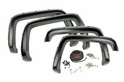 Chevrolet Pocket Fender Flares w/Rivets (07-13 Silverado 1500 - 5' 8