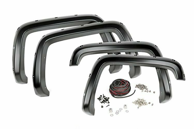 GM Pocket Fender Flares | Rivets (99-06 Silverado/Sierra 1500 PU)