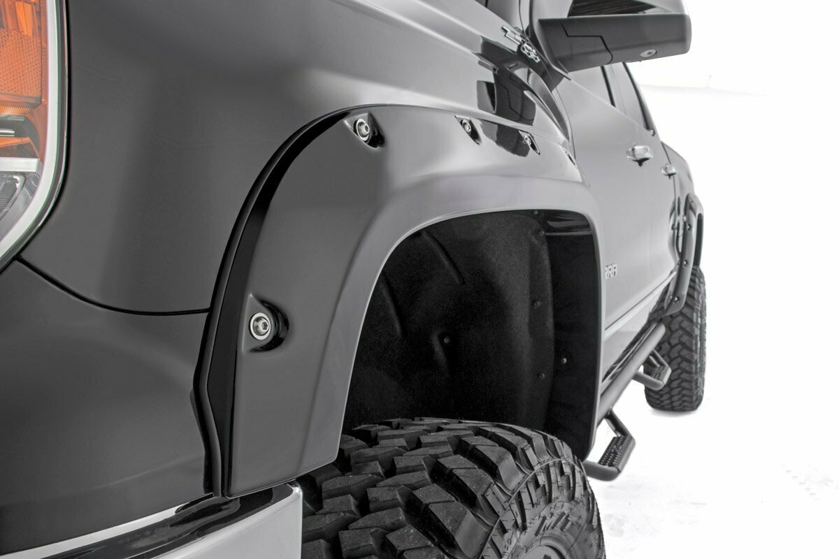 Chevy/GMC 1500 Pocket Fender Flares w/Rivets