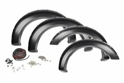 Dodge Pocket Fender Flares w/Rivets (10-18 Ram 2500/3500)
