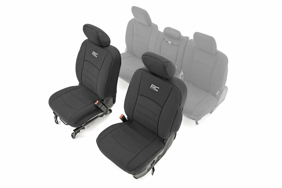 Dodge Neoprene Rear Seat Covers (09-18 Ram 1500)