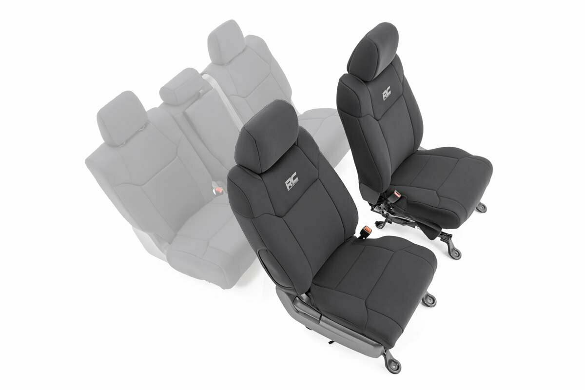 Toyota Neoprene Front Seat Covers (14-20 Tundra)
