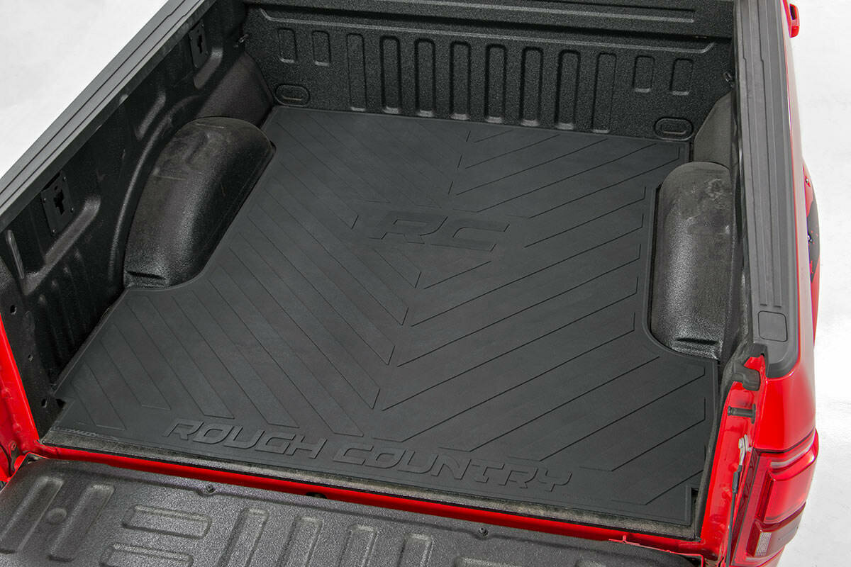 "Dodge Bed Mat w/RC Logos (02-18 Ram PU | 5'5"" Bed | Megacab)"