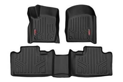 Heavy Duty Floor Mats [Front/Rear] - (13-20 Jeep Grand Cherokee WK2 w/ Factory
