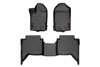 Heavy Duty Floor Mats [Front/Rear] - (19-20 Ford Ranger | Crew Cab)