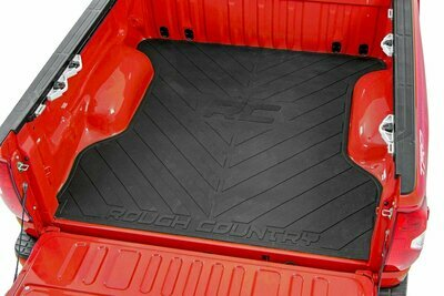 GM Bed Mat w/RC Logos (19-20 Silverado/Sierra 1500   5ft 8in Bed)
