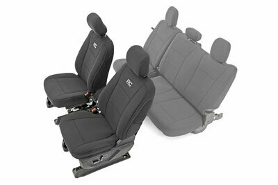 Ford Neoprene Front Seat Cover | Black [15-20 F-150 XL, XLT]