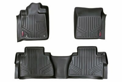 Heavy Duty Floor Mats [Front/Rear Crew Max] - (14-20 Toyota Tundra)
