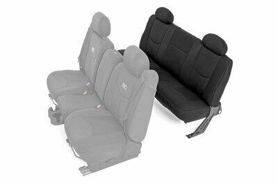 GM Neoprene Rear Seat Cover   Black [99-06 1500]