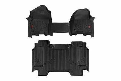 Heavy Duty Floor Mats [Front/Rear] - (19-20 Dodge Ram 1500 | Crew Cab | Half Console)