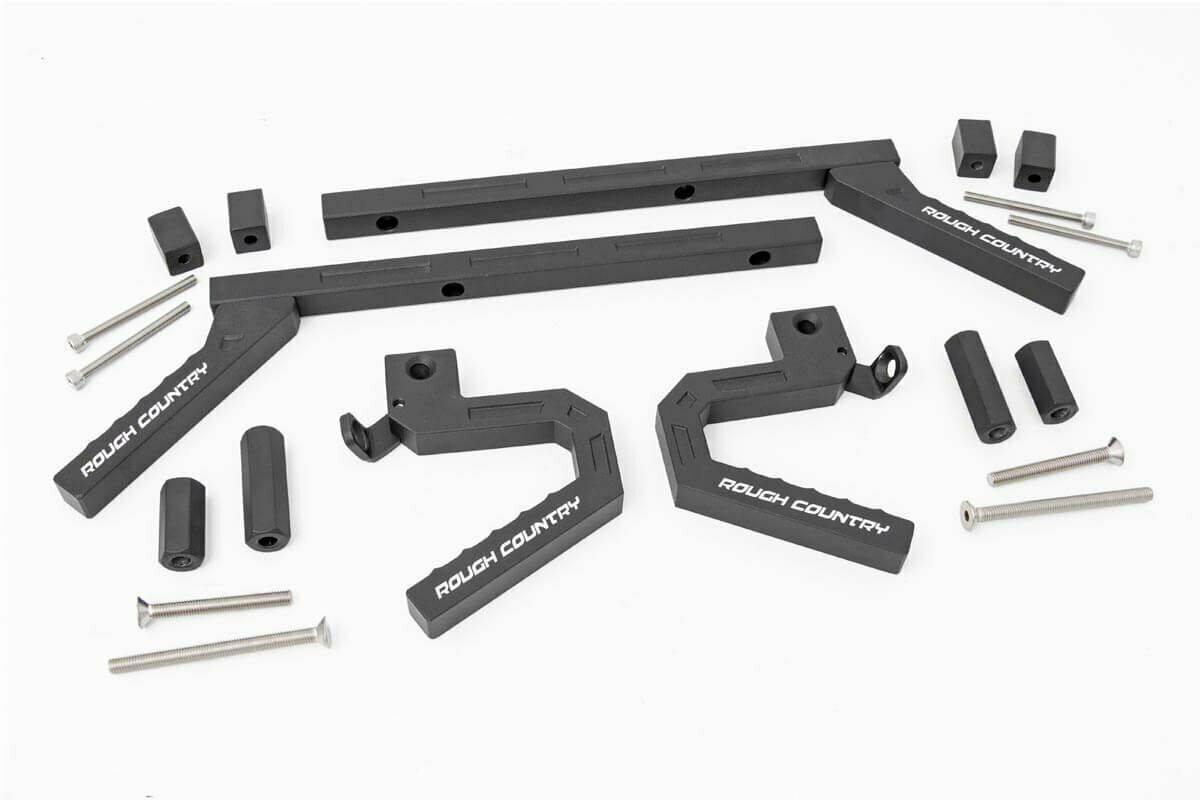 Jeep Aluminum Grab Handle Set (07-18 Wrangler JK)
