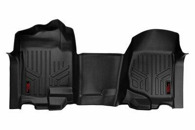Heavy Duty Floor Mats [Front] - (07-13 Chevy Silverado / GMC Sierra   Bench Seats)