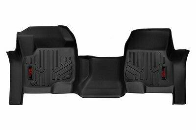 Heavy Duty Floor Mats [Front] - (17-20 Ford Super Duty | Bench Seats)
