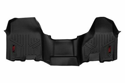 Heavy Duty Floor Mats [Front] - (12-18 Dodge Ram | Regular / Quad Cab | Half Console)
